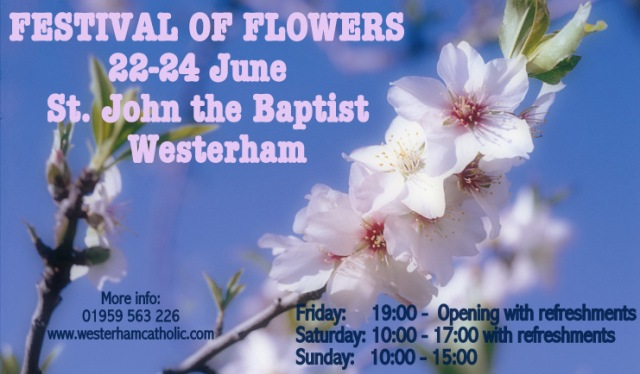 Flower Festival at St. John the Baptist, Westerham